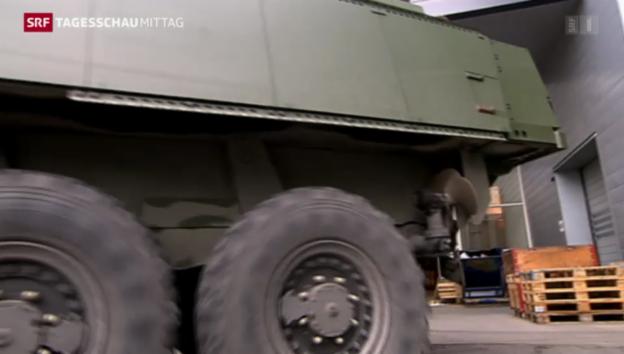 Video «Rüstungsexporte gehen zurück» abspielen