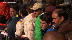 Video «Kanzleramt übernimmt Gesamtkoordination in Flüchtlingskrise» abspielen