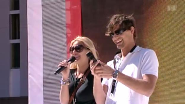Video «1. August: Wenn Prominente singen» abspielen
