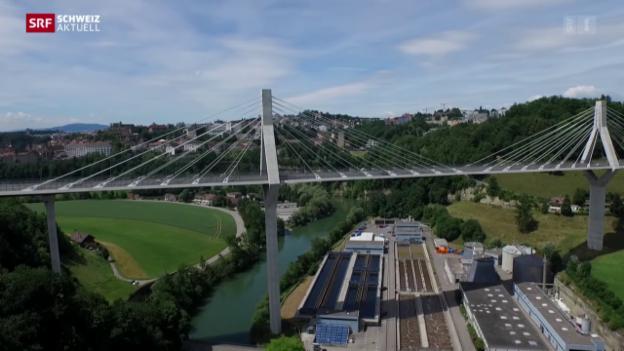 Video «Poyabrücke bringt nicht überall Verkehrsentlastung» abspielen