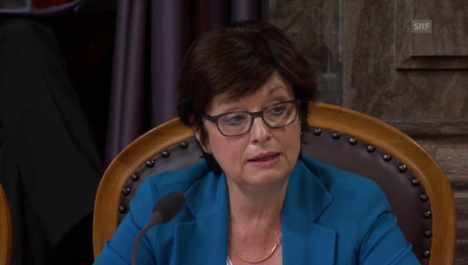 Anita Fetz: «Es gibt keine absolute Sicherheit»