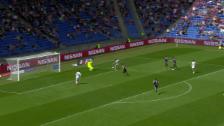 Video «1,2,3 – Sorgic mit Hattrick gegen FCB» abspielen