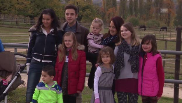 Video «Luca Hänni überrascht kranke Kinder mit exklusivem Konzert» abspielen