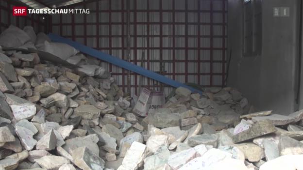 Video «Neue Regierung will Korruption bei Jadehandel bekämpfen» abspielen