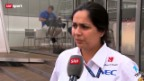 Video «Formel 1: Sauber nicht auf Touren» abspielen