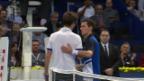 Video «Tennis: Matchball Roger-Vasselin - Kamke («sportlive»)» abspielen