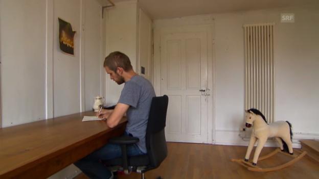 Video «Autor Heinz Helle: Von München ins kleine Biel» abspielen