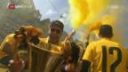 Video «Meisterumzug durch die Stadt Bern» abspielen