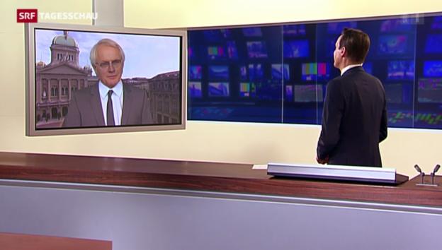 Video «Einschätzung von Hans Bärenbold, SRF-Bundeshausredaktor» abspielen