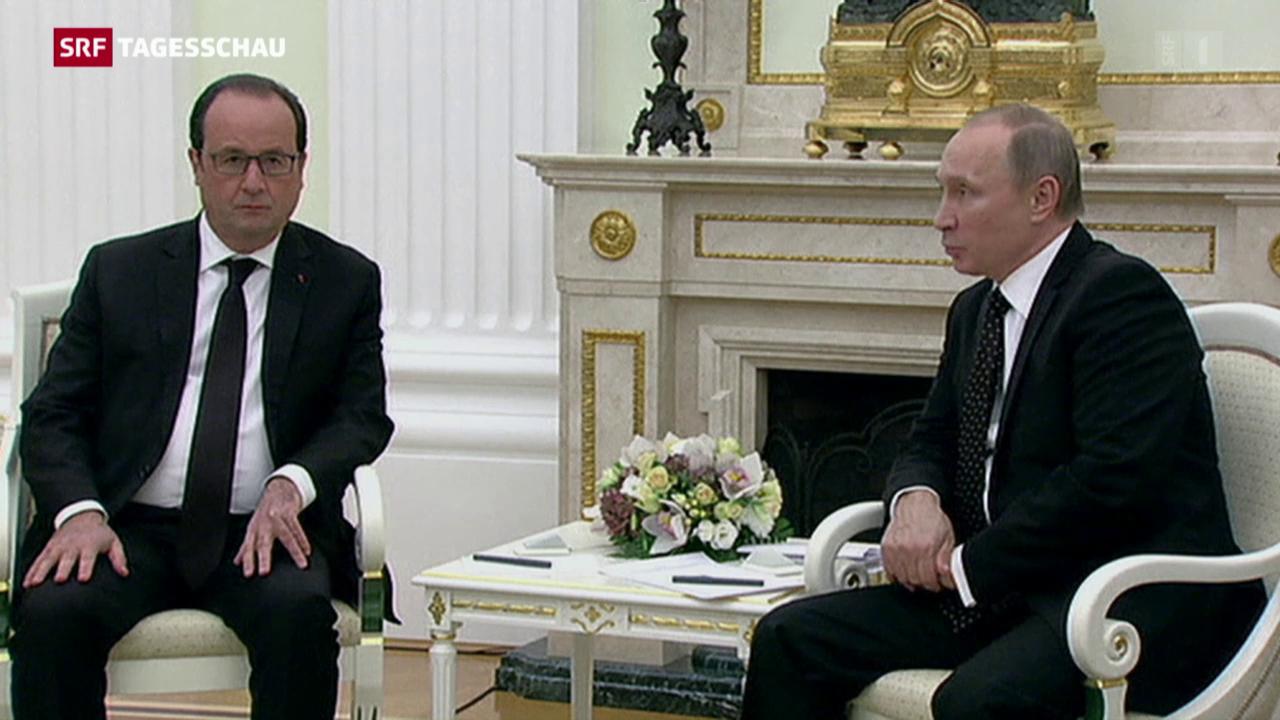 Hollande bei Putin