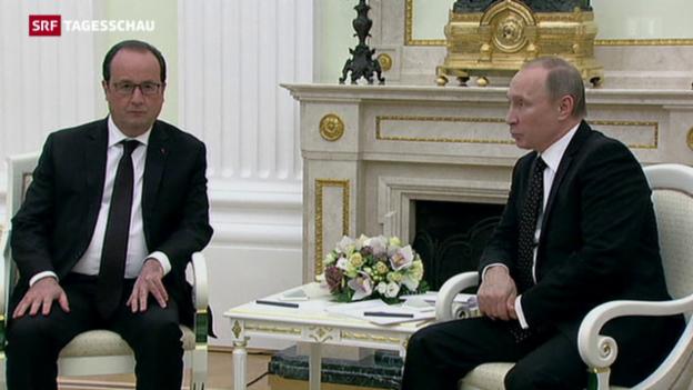 Video «Hollande bei Putin» abspielen