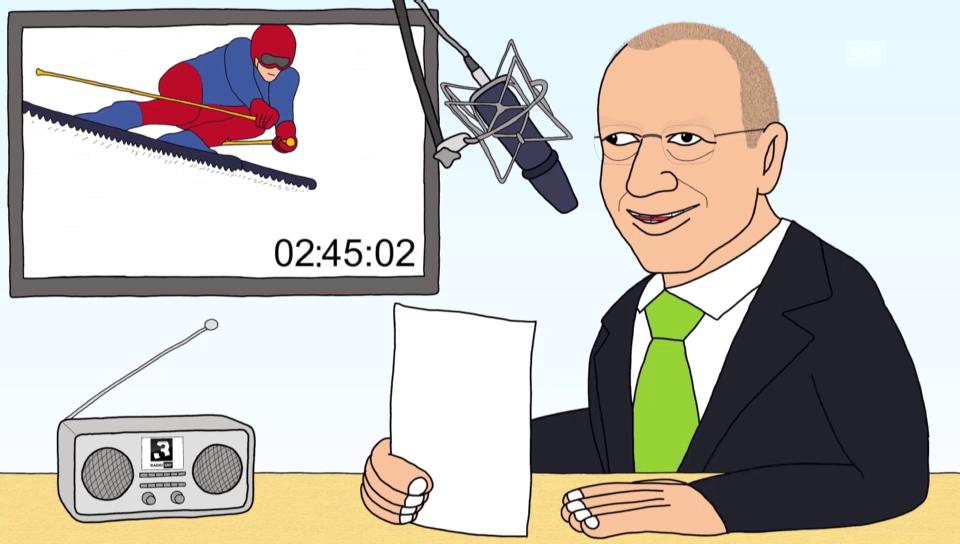 Comedy: «Skirennen sind langweilig!»