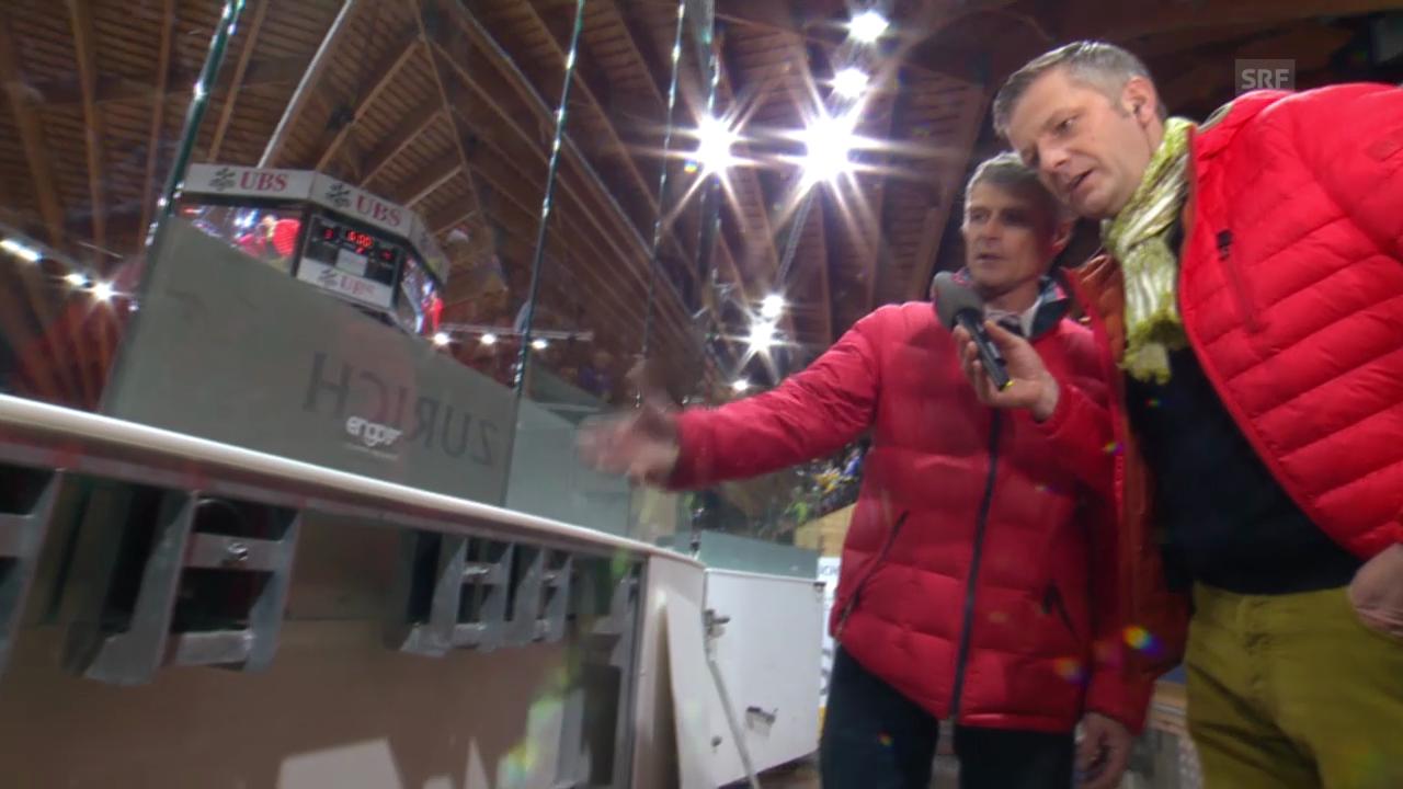 Eishockey: Spengler Cup, «Achtung, fertig, Salzi» («sportlive», 30.12.2013)