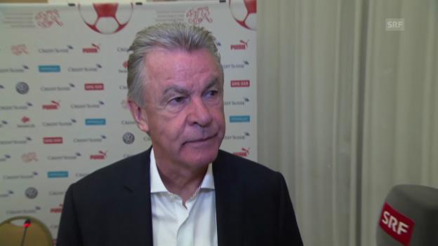 Video «FIFA WM 2014: Bilanz-Interview mit Ottmar Hitzfeld» abspielen