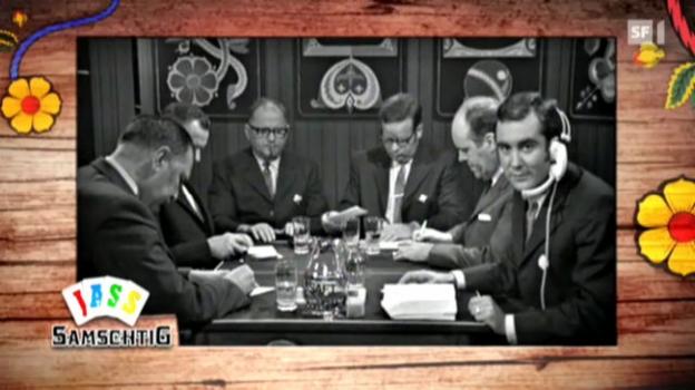 Video «700 «Samschtig-Jass»-Sendungen im Rückblick» abspielen