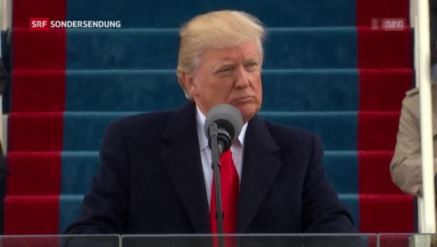 Video «Trump: Alte und neue Allianzen gegen den Terror» abspielen