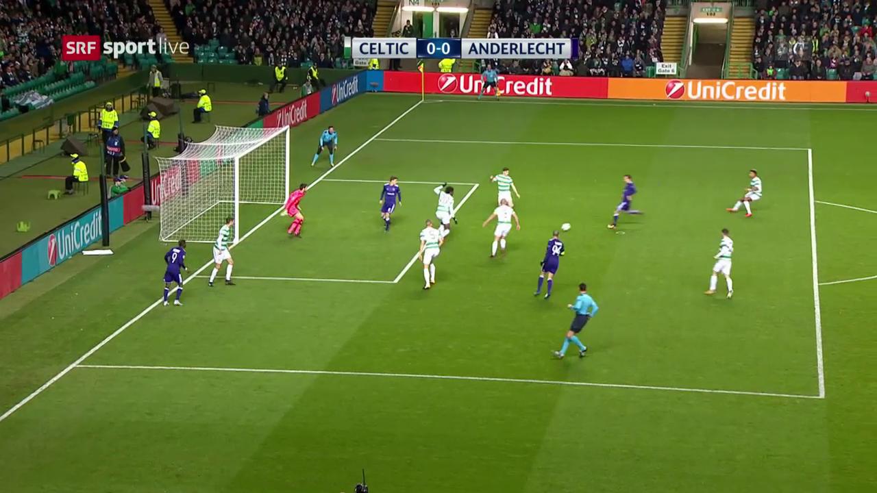Celtic unterliegt Anderlecht mit 0:1