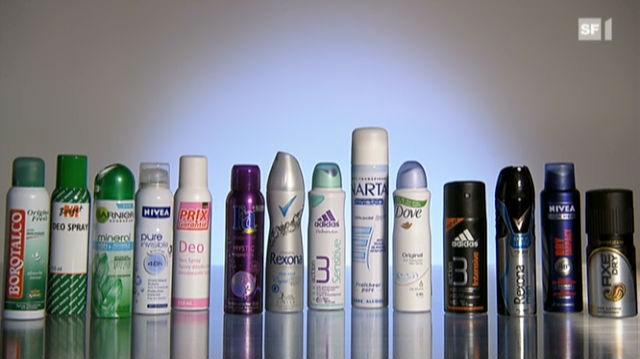 Welcher Deo-Spray am besten wirkt