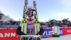 Video «Skispringen: Skiflug-WM, 1. Sprung von Simon Ammann («sportlive», 14.03.2014)» abspielen