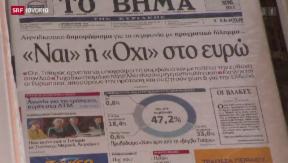 Video «FOKUS: Referendum - worüber die Griechen abstimmen» abspielen