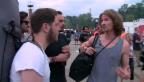 Video ««Mit dem Promi ans Openair»: Zelten mit Iouri Podladtchikov» abspielen