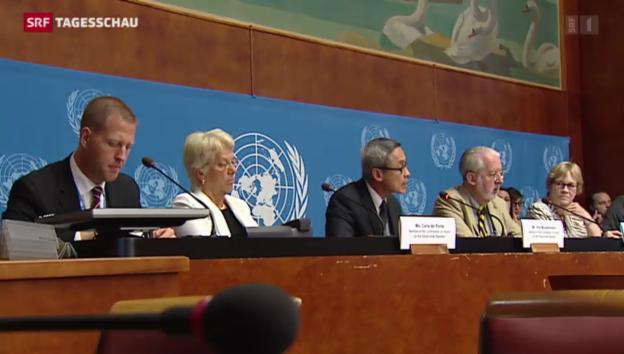 Video «UNO warnt vor Flächenbrand im Nahen Osten» abspielen