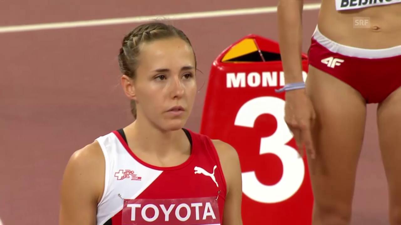 LA: 800 m Frauen, Halbfinal Büchel