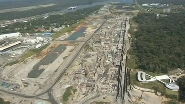 Grossbaustelle Panama-Kanal