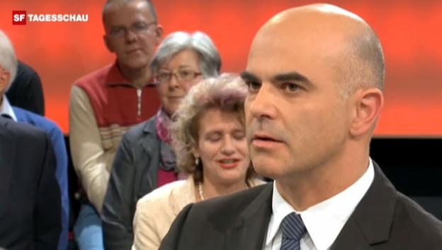 Video «Alain Berset will die Rentendebatte neu ausrichten, «Arena» vom 23.11.2012» abspielen