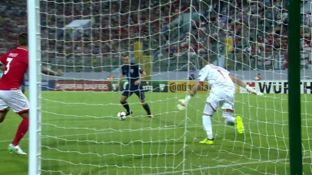 Video «Malta-England: Kane bricht den Bann» abspielen