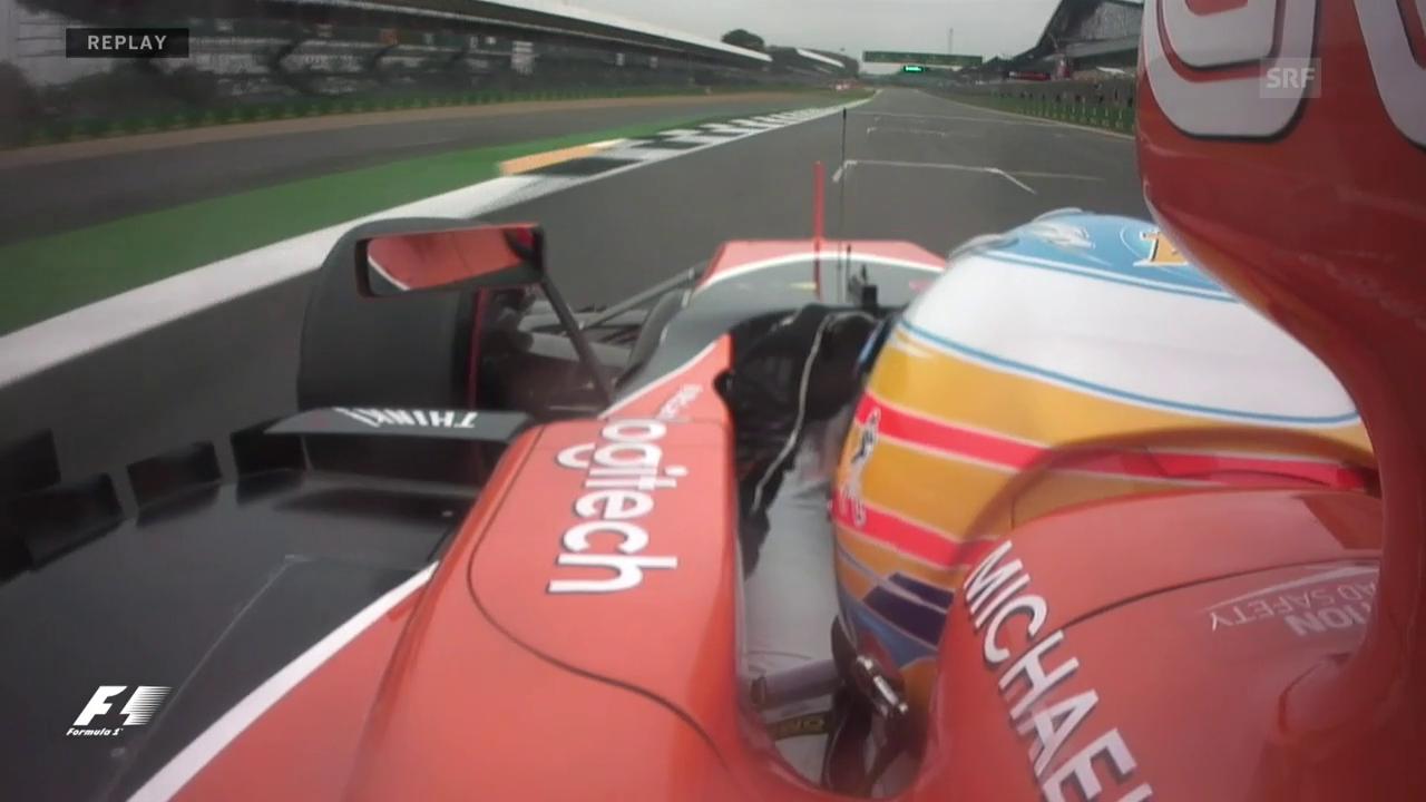 Alonsos Meisterstück in Q1