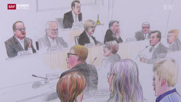 Video «Letzter Prozesstag im Fall Walker» abspielen