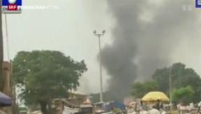 Video «Etliche Tote nach Doppelanschlag in Nigeria» abspielen
