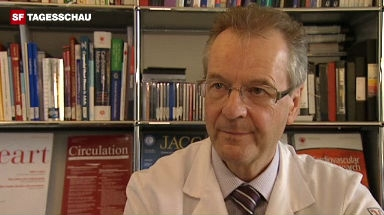 Video «Interview mit Piero Bonetti, Kardiologe am Kantonsspital Chur.» abspielen