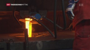 Video «Millionenverlust wegen niedriger Stahlpreise » abspielen