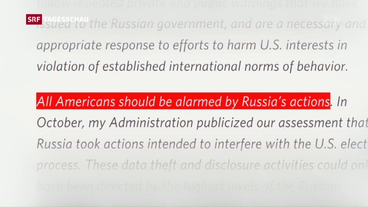 Putin will keine Vergeltungsaktionen gegen die USA