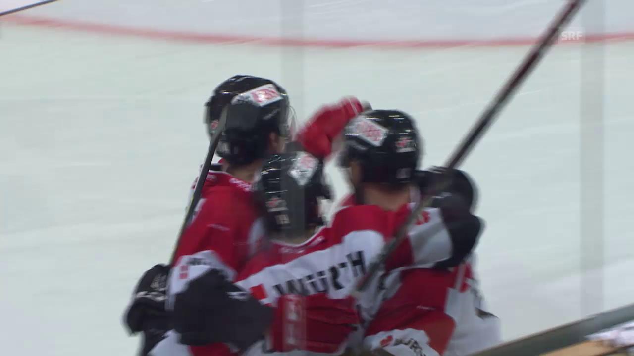 Eishockey: Spengler Cup 2015, Jekaterinburg-Team Canada, 1:2 Conacher