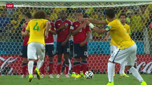 Video «FIFA WM 2014: Spielbericht Deutschland - Frankreich» abspielen