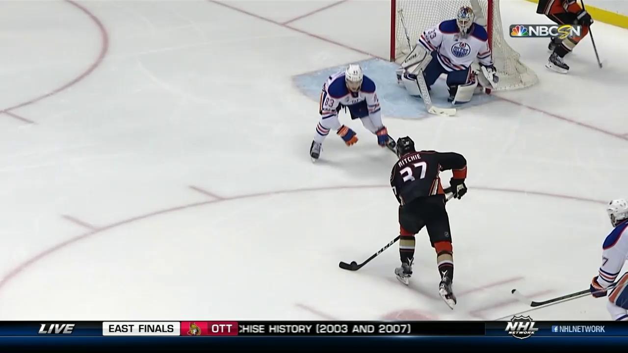 Ritchies Game-Winner gegen Edmonton