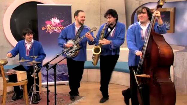 Video «Die 7 Interpreten geben eine musikalische Kostprobe» abspielen