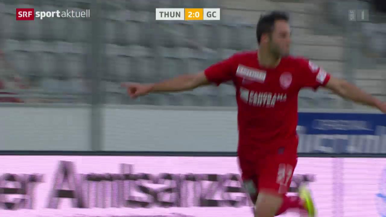 Fussball: Super League, Thun - GC
