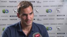 Video «Federer: «Es hätte sogar noch besser laufen können»» abspielen