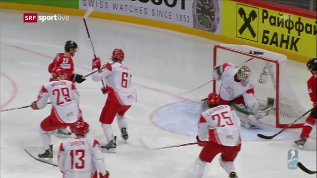 Eishockey-WM: Highlights Schweiz - Dänemark («sportlive»)