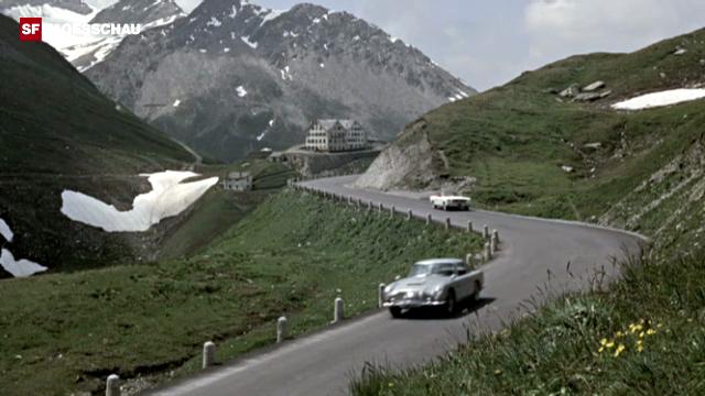 James Bond «Goldfinger» an der Furka