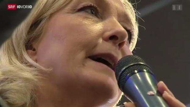 Video «Frankreich rutscht nach rechts» abspielen