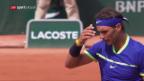 Video «Djokovic und Nadal weiter» abspielen