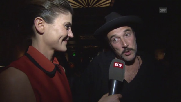 Video «Schweizer Party in Hollywood» abspielen