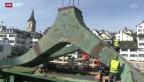 Video «Hafenkran in Zürich» abspielen