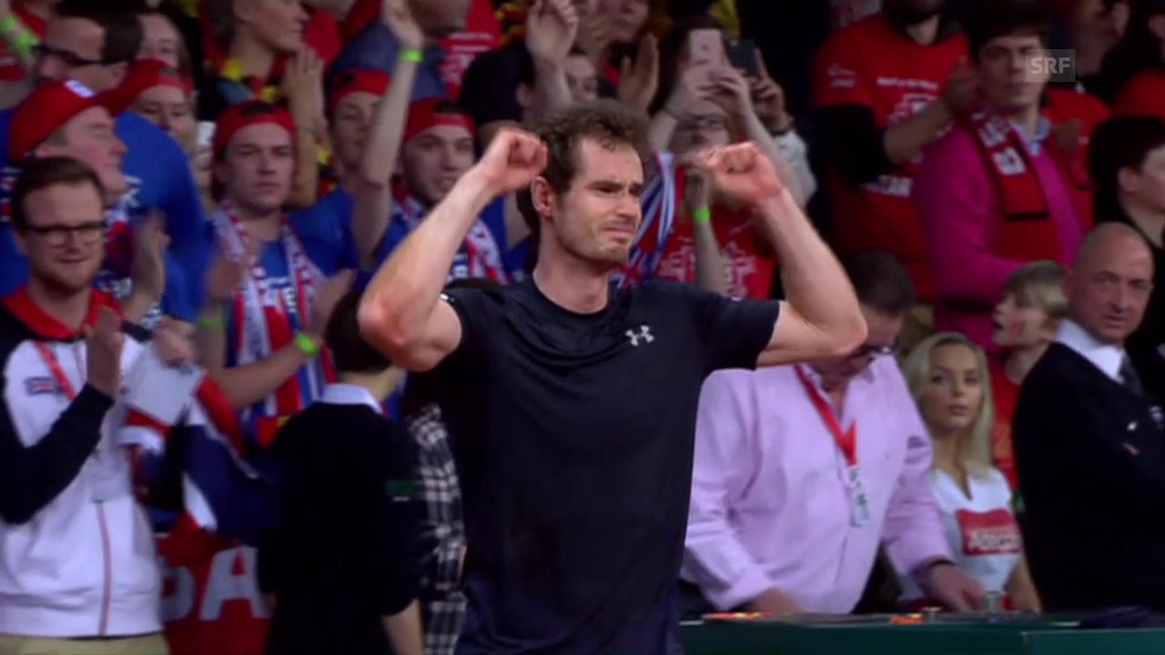 Gestatten: Andy Murray, die neue Nummer 1 der Welt