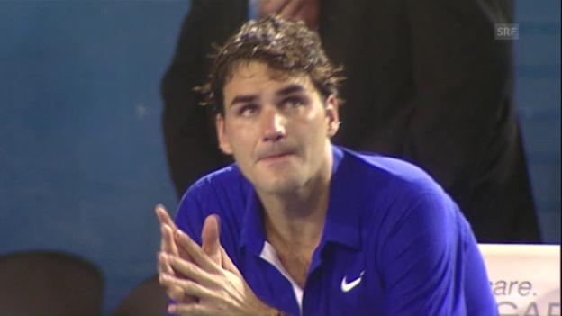 Video «2009: Federer unterliegt Nadal» abspielen